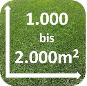 Mähroboter 1000 bis 2000m2