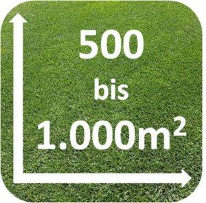 Rasenroboter 500 bis 1000m2